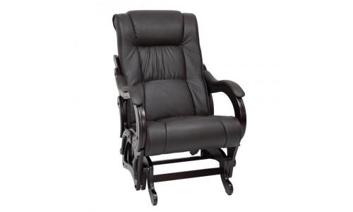 Кресло-глайдер Модель 78 венге Венге/Dundi 108
