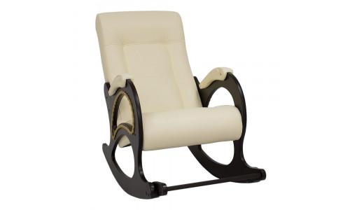 Кресло-качалка Модель 44 Венге/Dundi 112
