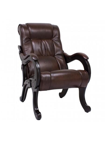 Кресло для отдыха Модель 71 Венге/Antik crocodile