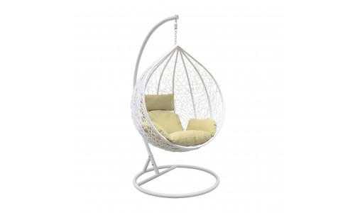 Подвесное кресло LESET ALTAR Белый/Зелёный