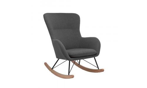 Кресло-качалка LESET SHERLOCK Чёрный/Серый