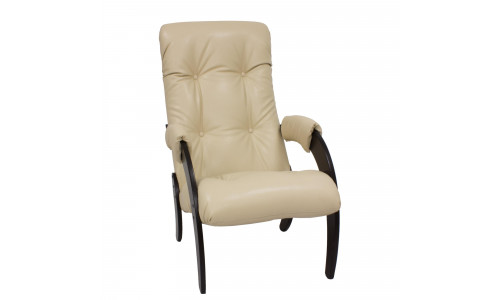 Кресло для отдыха Модель 61 Венге/Polaris Beige