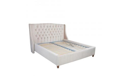 Кровать Leset IRMA с подъемным механизмом Миндаль