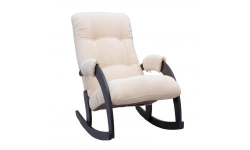 Кресло-качалка Модель 67 Венге/Verona Vanilla