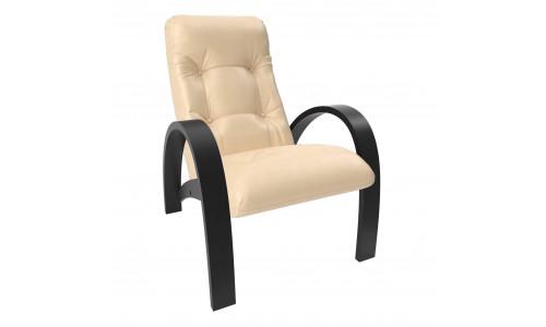 Кресло для отдыха Модель S7 Венге/Бежевый