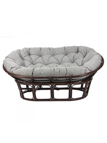 Диван MAMASUN с подушкой Орех/Серый