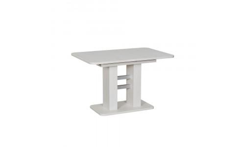 Стол раздвижной 80.530 Leset Гранд Наварра белая, компаньон Алюминий