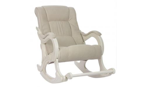 Кресло-качалка Модель 77 Дуб шампань/Verona Vanilla