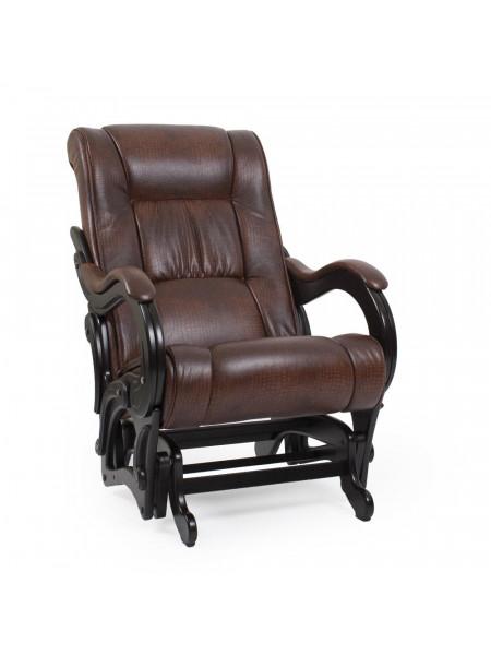 Кресло-глайдер Модель 78 венге Венге/Antik crocodile