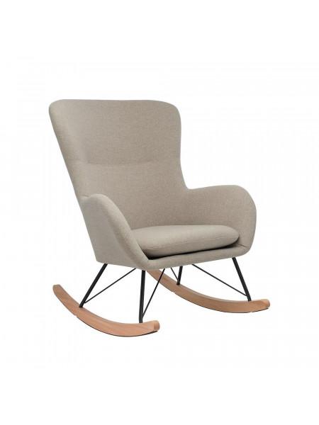 Кресло-качалка LESET SHERLOCK Чёрный/Бежевый