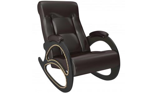 Кресло-качалка Модель 4 Венге/Oregon perlamutr 120