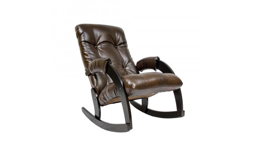 Кресло-качалка Модель 67 Венге/Antik crocodile