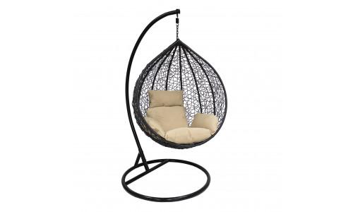 Подвесное кресло LESET ALTAR Чёрный/Кофе