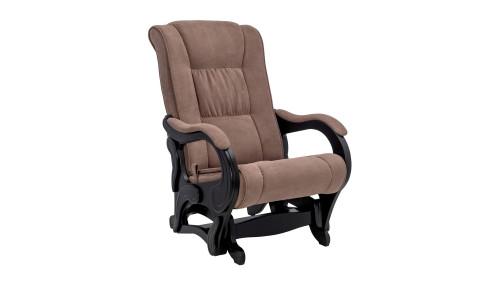 Кресло-глайдер Модель 78 люкс Венге/Коричневый