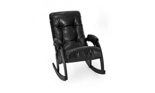 Кресло-качалка Модель 67 Венге/Vegas Lite Black