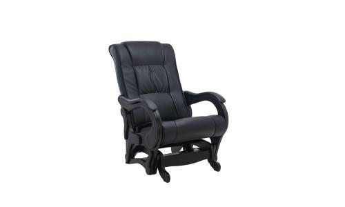 Кресло-глайдер Модель 78 люкс Венге/Чёрный