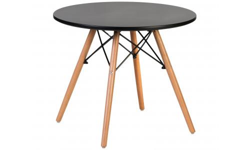 Стол для журнального стола LMZL-TD-53 (ножки светлый бук, цвет чёрный)