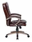 Офисное кресло для персонала LMR-106B (коричневый)