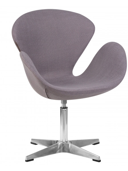 Кресло дизайнерское LMO-69A Swan (серая ткань IF11)
