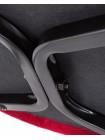 Стул барный LML-8297 Christian'75 (черные ножки, бордовый велюр (V108-85))
