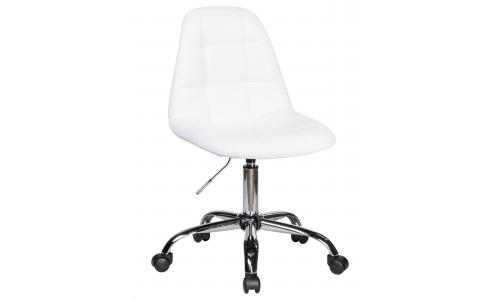 Офисное кресло для персонала LM-9800 (белый)