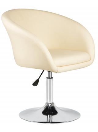 Кресло дизайнерское LM-8600 (кремовый)
