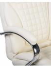 Офисное кресло для руководителей LMR-114B (кремовый)
