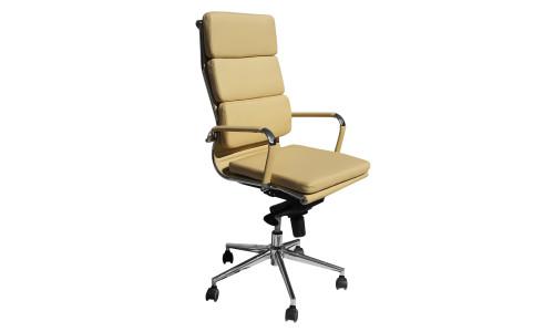 Офисное кресло для руководителей LMR-103F (бежевый)