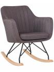 Кресло-качалка LM-3257R (серая ткань (LAR-106D-26))