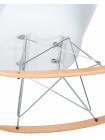 Кресло-качалка LMZL-PP620A (цвет белый)