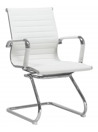 Офисное кресло для посетителей LMR-102N (белый)