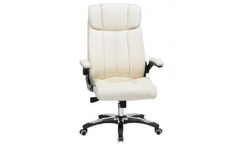 Офисное кресло для руководителей LMR-107B (кремовый)