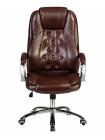 Офисное кресло для руководителей LMR-116B (коричневый)