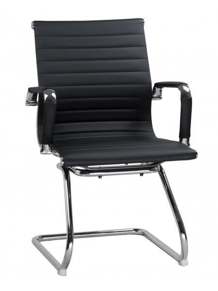 Офисное кресло для посетителей LMR-102N (чёрный)