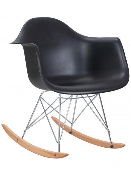 Кресло-качалка LMZL-PP620A (цвет черный)