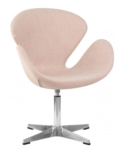 Кресло дизайнерское LMO-69A Swan (бежевая ткань IF1)