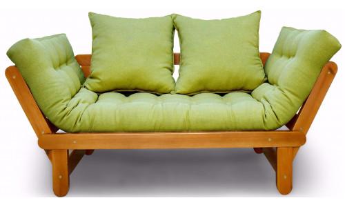Кушетка Сламбер зеленый сосна