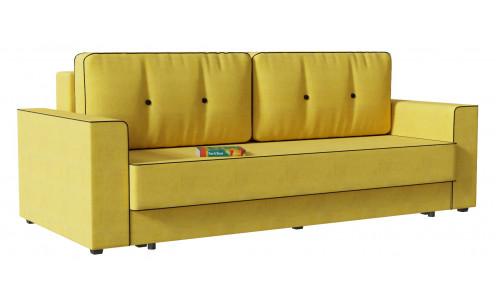 Диван прямой Принстон (Сильвио) Yellow еврокнижка
