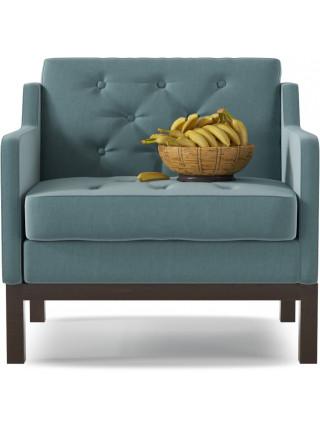 Кресло Айверс Textile Blue