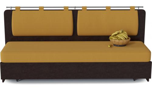 Диван кухонный Говард Yellow со спальным местом