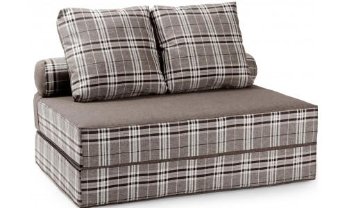 Бескаркасный диван Фаргус серый