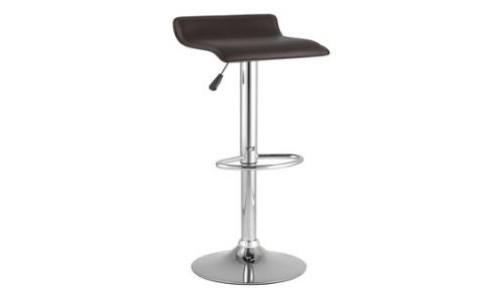 Барный стул Хай-Тек коричневый