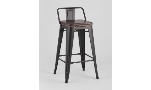 Барный стул SOFT черный экокожа