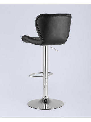Барный стул PORSCHE черный экокожа