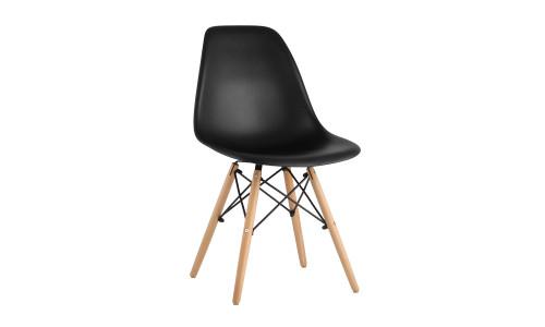 Комплект стульев Eames DSW черный пластиковый