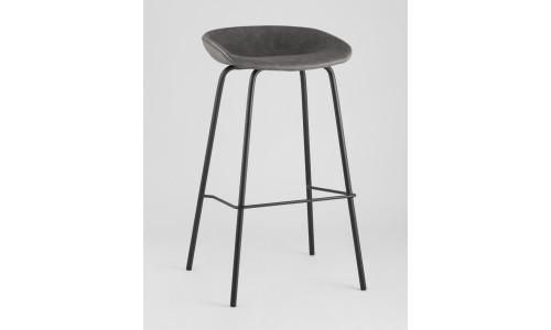 Барный стул Beetle Lite PU серый