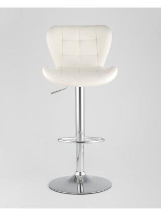 Барный стул PORSCHE белый экокожа
