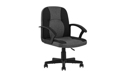 Офисное кресло TopChairs Comfort черное в текстильной обивке