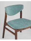 Комплект стульев Ragnar мягкое тканевое синее сиденье