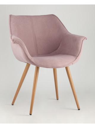 Стул Джулиан розовый обивка плотная ткань